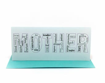 mom mother cards | happy mother's day | mum cards | mothers day card | grandmother descriptive words card | valentine wife