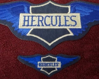 2 Different Hercules Patches