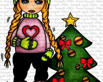 Leila Decorating by Sasayaki Glitter Christmas
