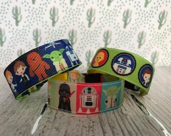 Star Wars, Kids ID bracelet, personalize, name