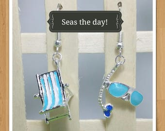 CHAIR SNORKEL EARRINGS