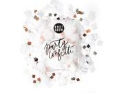 White Copper Party Mix Bag / Party Confetti