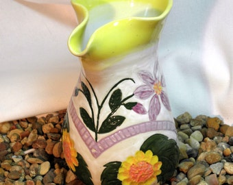 Small Hand Decorated Pitcher
