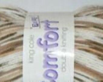 King Cole Comfort Prints DK Yarn - 212 Caramel