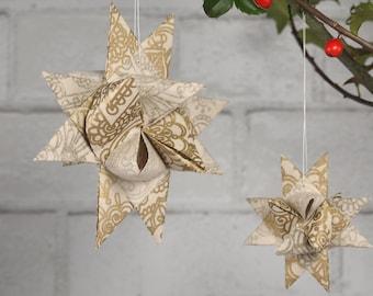Gold Paisley Hygge Danish Star