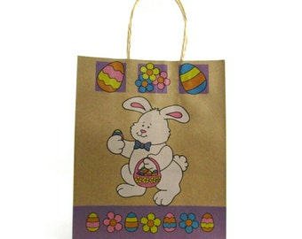Easter bunny bag etsy negle Images