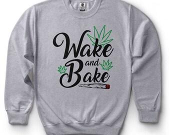 420 Sweatshirt Funny Legalize Marijuana Cannabis Stoner Pot Smoker Joint Fleece Sweater