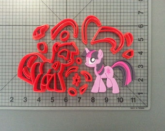 Little Pony Cookie Cutter Little Pony Cutter Little Pony Fondant Cutter Little Pony Cake Topper