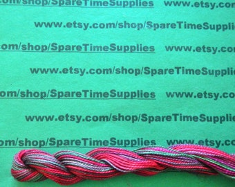 The Caron Collection - Wildflowers - Cerise - single strand cotton floss - 36 yds - 1 skein - #F055