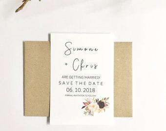 R O S E A I L Y | Save The Date Invitations