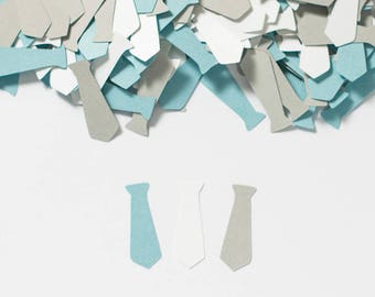 Little Man Baby Shower- Baby Boy Shower Decoration - Tie Confetti