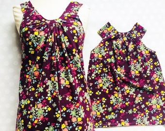Mother Daughter Matching Dresses - Sleeveless Matching Dresses - Mommy and Me Dresses - Mommy and Me - Mother Daughter Dresses - Tank Dress