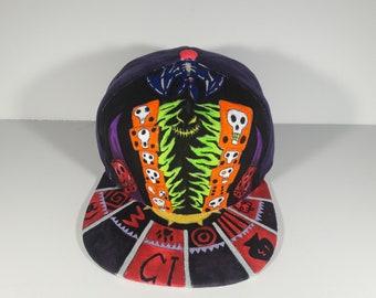 Custom Disney Villain (Pick Your Favorites) Painted Hat