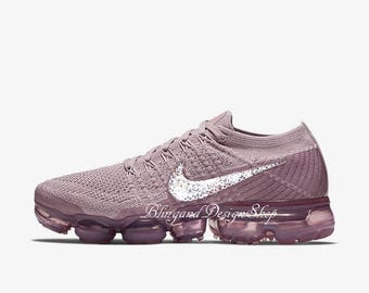 Swarovski Bling Nike Vapormax Flyknit Women's Nike Shoes Customized with Swarovski Crystal Rhinestones