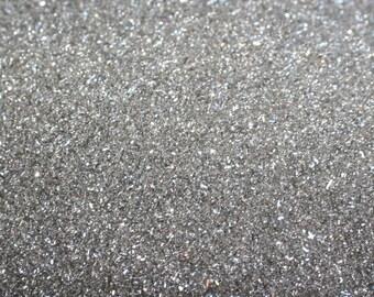 German Glass Glitter - Silver - Fine 90 Grit