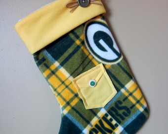 Green Bay Packer Christmas Stocking