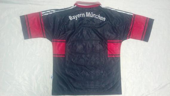 Rare Vintage 90s Adidas FC BAYERN Munchen EV Jersey Opel C51Ny