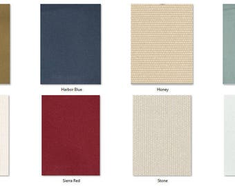 SWATCH: 13 oz Brushed Canvas Fabric Sample