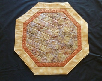 Quilted Holiday Table Topper