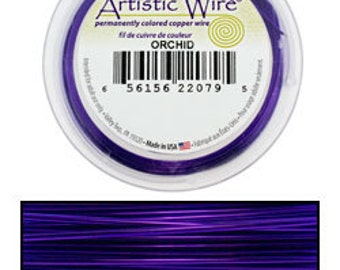 Artistic Wire SP Orchid Color 18ga - 20 Foot Spool  (WR35718)