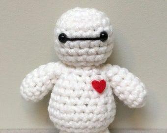 Crochet Pattern: Baymax Amigurumi, Disney Pattern