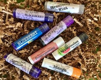 Lip balm sampler, try any 6