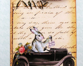 Easter Parade Rabbit Tags