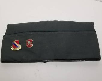 Free Shipping!! Military Garrison Cap with Pins