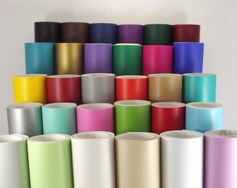 Matte Vinyl 12 inch x 5 Yd (15 feet) Roll for Cricut & Silhouette - 30 colors available - Oracal 631