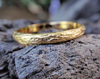 yellow gold wedding band wedding ring for men and women 14k solid yellow rose white gold twig engagement ring promise ring anniversary ring