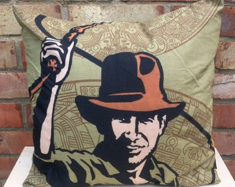 Indiana Jones Cushion Selection - Handmade by Alien Couture