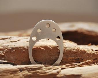 Minimal contemporary handmade ring
