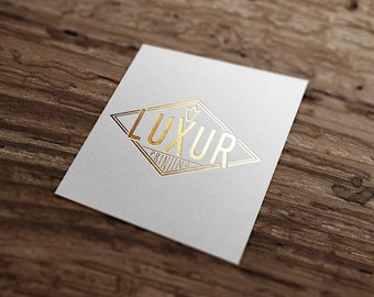 100 gold/silver/brass hot foil printed highly customizable business cards, 380/480/700gsm