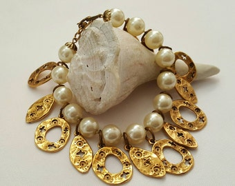 Designer Style Pearl Bracelet(reserved)