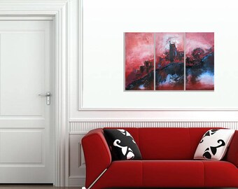 Passion - Available Now - Ready to Ship - Original Painting - Modern Abstract Art
