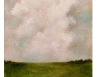 "Landscape on canvas 36 x24 in  ""Resistance"""
