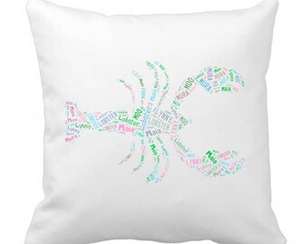 Personalized Lobster 20 x20 Pillow Cover Room Decor Beach House