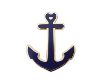 Stifte - Seemann - Anker war - Juwel - Abzeichen - pin