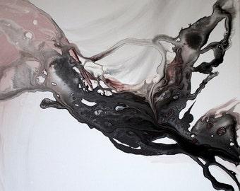 Black Flow - Instant Digital Downloadable Print!