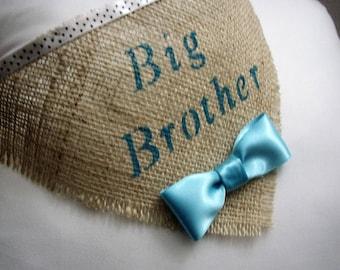 Big Brother Dog Bandana, Dog Pregnancy Announcement Bandana, Dog Collar, Pet Photo Prop, Birth Baby Announcement, Dog Baby Announce