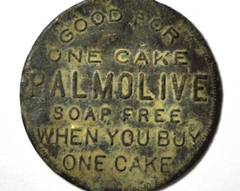 Good For One Cake Palmolive Soap Free When You Buy One 35mm Bronze
