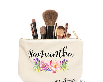 Personalized gift, Personalized makeup bag, Custom cosmetic bag, Girlfriend gift, Gifts for her, Gift Ideas for her, Gifts under 30, c4