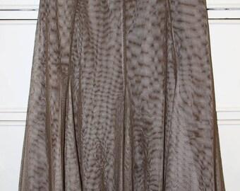 Retro Tule Skirt Midi Length