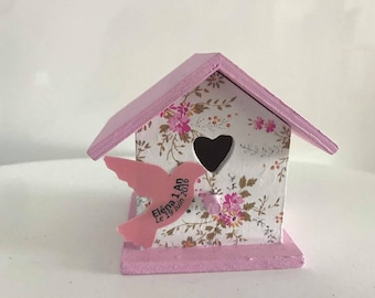 liberty birdhouse with dragees
