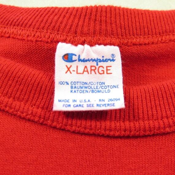 Deadstock Bulls 2 Vintage T USA Champion Basketball Chicago shirt 1 XL 80s NBA Red H19L RqqxwHTB