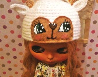 blythe  snow deer hat