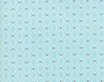 Nest Fabric by Lella Boutiquee for Moda, #5063-15, Robins Egg Blue - IN STOCK
