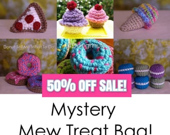 Mystery Mew Treat Bag > Cat Toy > Crochet > Gifts for Purr