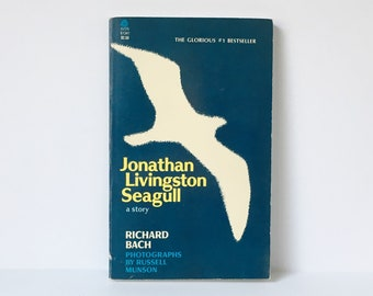 Jonathan Livingston Seagull Paperback 1973 Richard Bach Paperback Novel Classic Novels