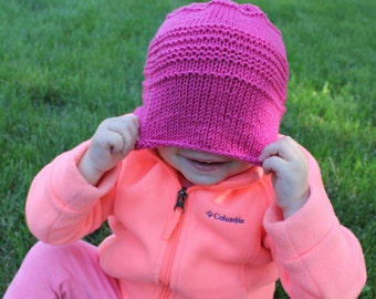 Knit Hat Baby Beanie - You Pick the Color
